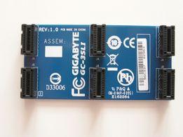 Mostek GIGABYTE GC-3 SLI 3 WAY nowy
