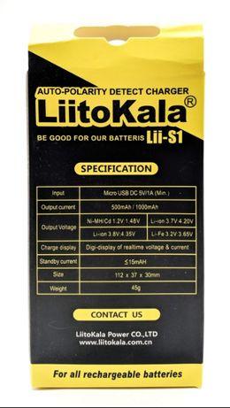 Универсальное зарядное устройство LiitoKala Lii-S1 Градижск - изображение 7