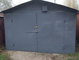 Металлический сварной гараж в кооперативе Шинник 2