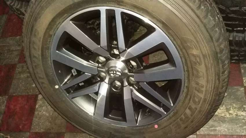 "18"" New Fortuner  Dimond cut rim(rim only) 0"
