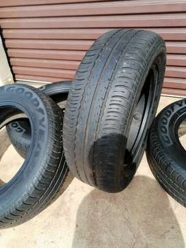 4 Tyres 215/65 R16  for R1650