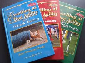 Excelling at Dog Agility Books - Jane Simmons-Moake - Dog Training.