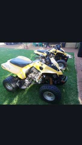 2x bombardier ds 250's for sale