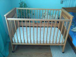 Кровать детская с кокосовым матрасом