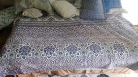 Queen Bed ( Matress and Base ).