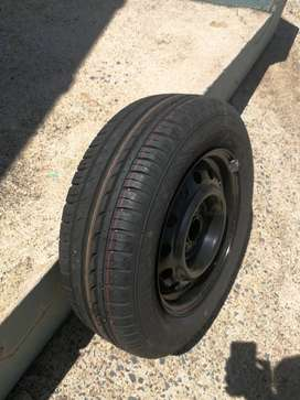 """185/65R14"""" Rim and Continental Tyre for sale"""