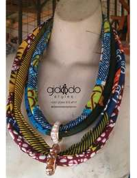 Image of Fabric rope necklace