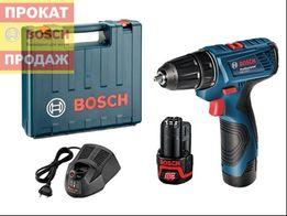 Шуруповерт Bosch GSR 120-LI, GSB 140 180 3 года гарантии