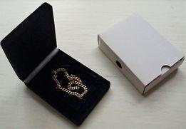 Бархатный футляр/коробочка для украшений