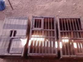 BIRD CAGE AND STAND AND RACING PIGEON BASKETS FOR SALE