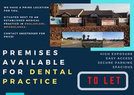 Premises available for Dental Practice TO RENT in eMalahleni