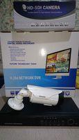 Комплект видео наблюдения HD-SDI 4 канала