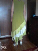 СРОЧНО цена СНИЖЕНА! новое красивое нарядное платье большого размера о