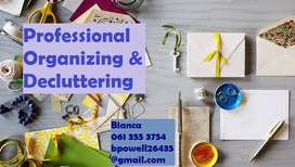 Professional Organizing & Decluttering