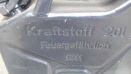 Продам 20 литровую немецкую металлическую канистру