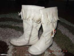 Buty Kremowe Kozaczki 30