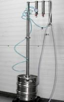 destylator keg 50 L 2 odstojniki 2 łącza sms 120cm