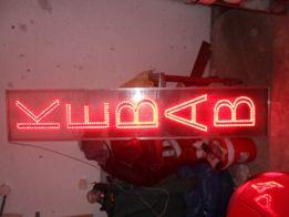 KEBAB neon Kebab 216x42cm -diody LED