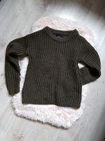 Sweterek khaki