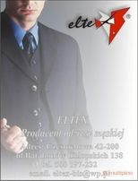 Używany garnitur (2xspodnie w zestawie) Eltex, kolor szary 170/124cm