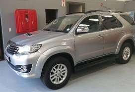 Toyota Fortuner 3.0 D-4D Raised body Automatic
