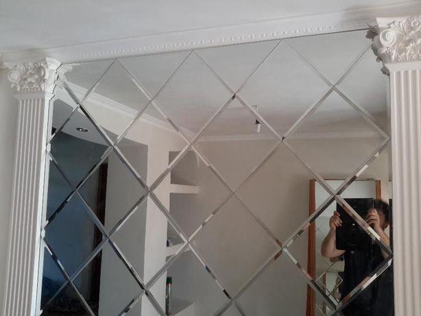 Зеркальная плитка Фацет дзеркало плитка дзеркальна Коломыя - изображение 1