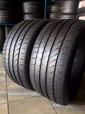 285/35/21 BMW runflat tyres