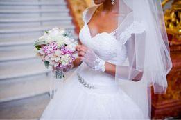 """Шикарное свадебное платье из салона """"Кокос"""""""