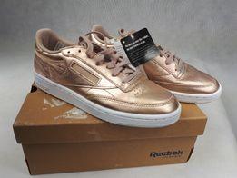 NOWE Sneakersy REEBOK club 85 melted metal eu38.5 uk 5.5