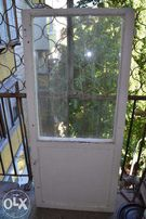 Балконный блок из двух открывающих дверей
