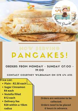 Pancakes for Sale!