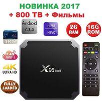 Smartr Iptv X96 mini 2gb-16gb S905W Андроид Смарт ТВ приставка 2690руб
