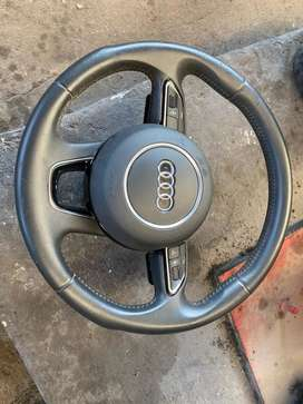 2015 Audi Q5 steering wheel with airbag R5000