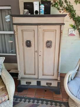 vintage cabinet Redone, Gorgeous. priced to go.