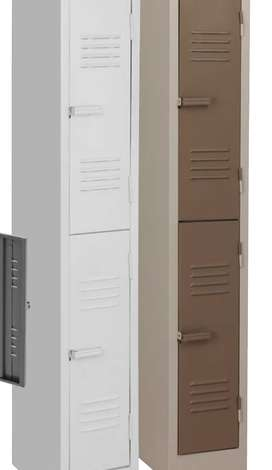 1800x300x450 2 compartment locker