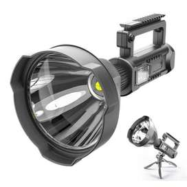 Hand-Held High-Power Multi-Function Strong Light Flashlight Large W591