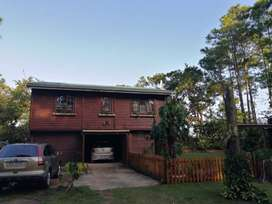 SUPERB LOCK-UP AND GO DOUBLE STOREY LOG CABIN ON SOUTH COAST KZN