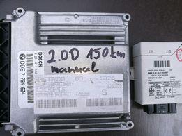 Sterownik silnika BMW E46 2.0D 150KM ze skrzynią manualną