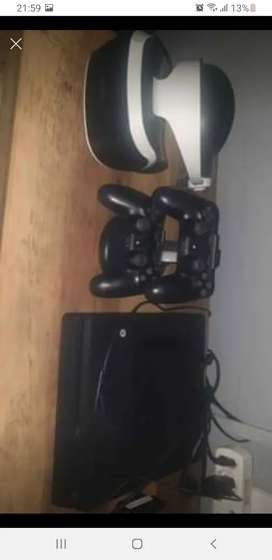 Ps4 +ps vr and games 4 sale