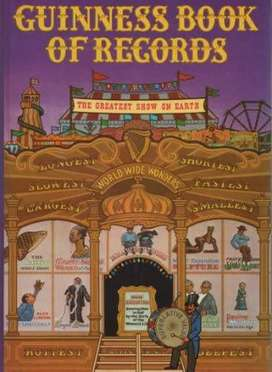 Looking for Guinness Book of World Records (1958 - 1974)