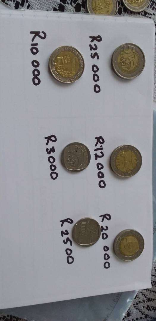 Rare South African coins 0