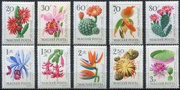 Венгрия 1965 - цветы - MNH XF - полная серия в люксе