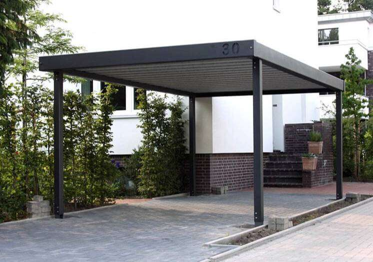 Steel gates , Carport and palisade fencing