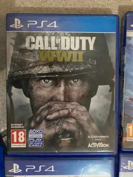 Ps4 game - Call of Duty WW2