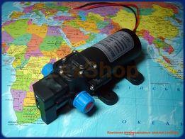 Помпа водяной насос оприскувач PLD1206 60 Вт 12 В 0.8-1 Mpa (8-10 Атм)