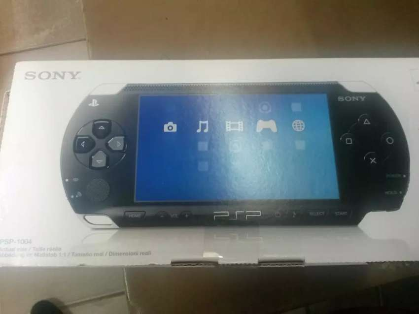 Play station portable console(PSP) 0