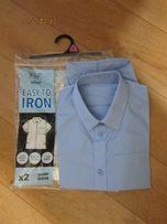Рубашка F&F 8-9 лет, шведка, рубашка с коротким рукавом