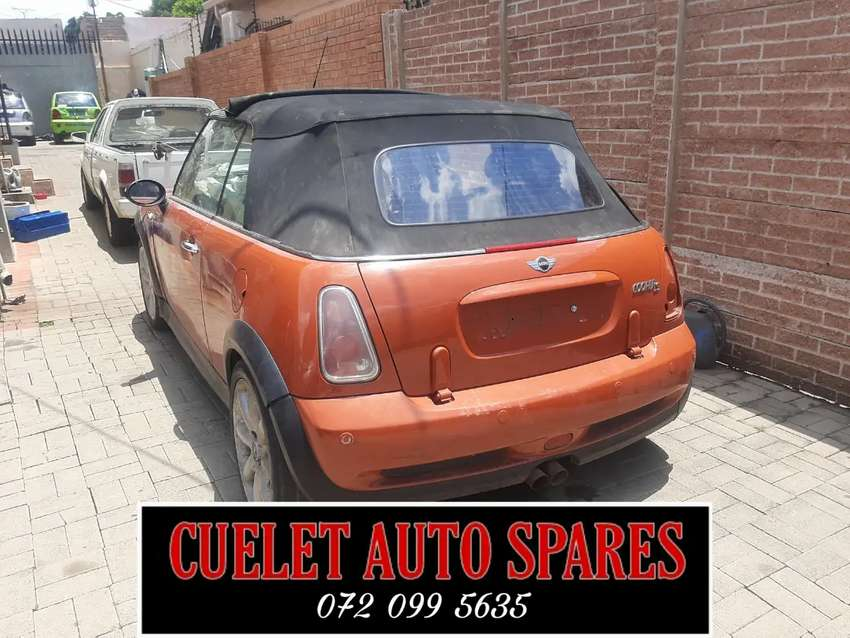 Mini Cooper S Stripping For Parts