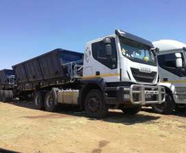 34 ton side tipper trucks for hire