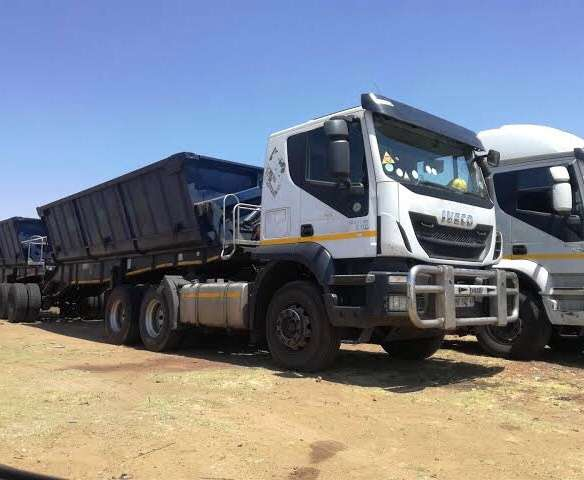 34 ton side tipper trucks for hire 0